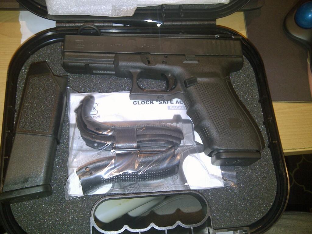 Glock 17 im Koffer