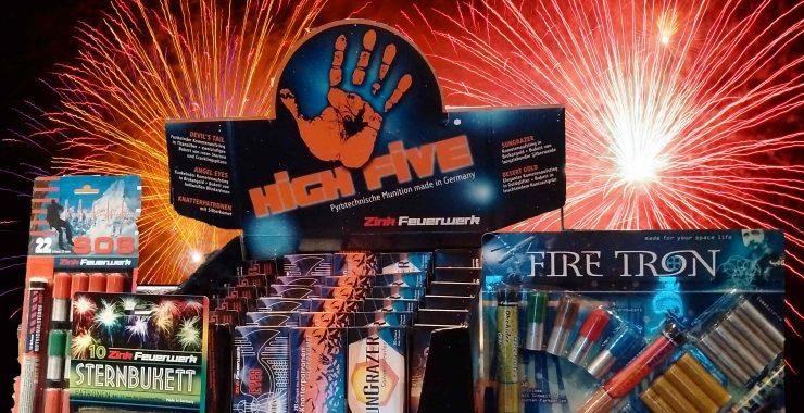 Pyrotechnische Munition zu Silvester