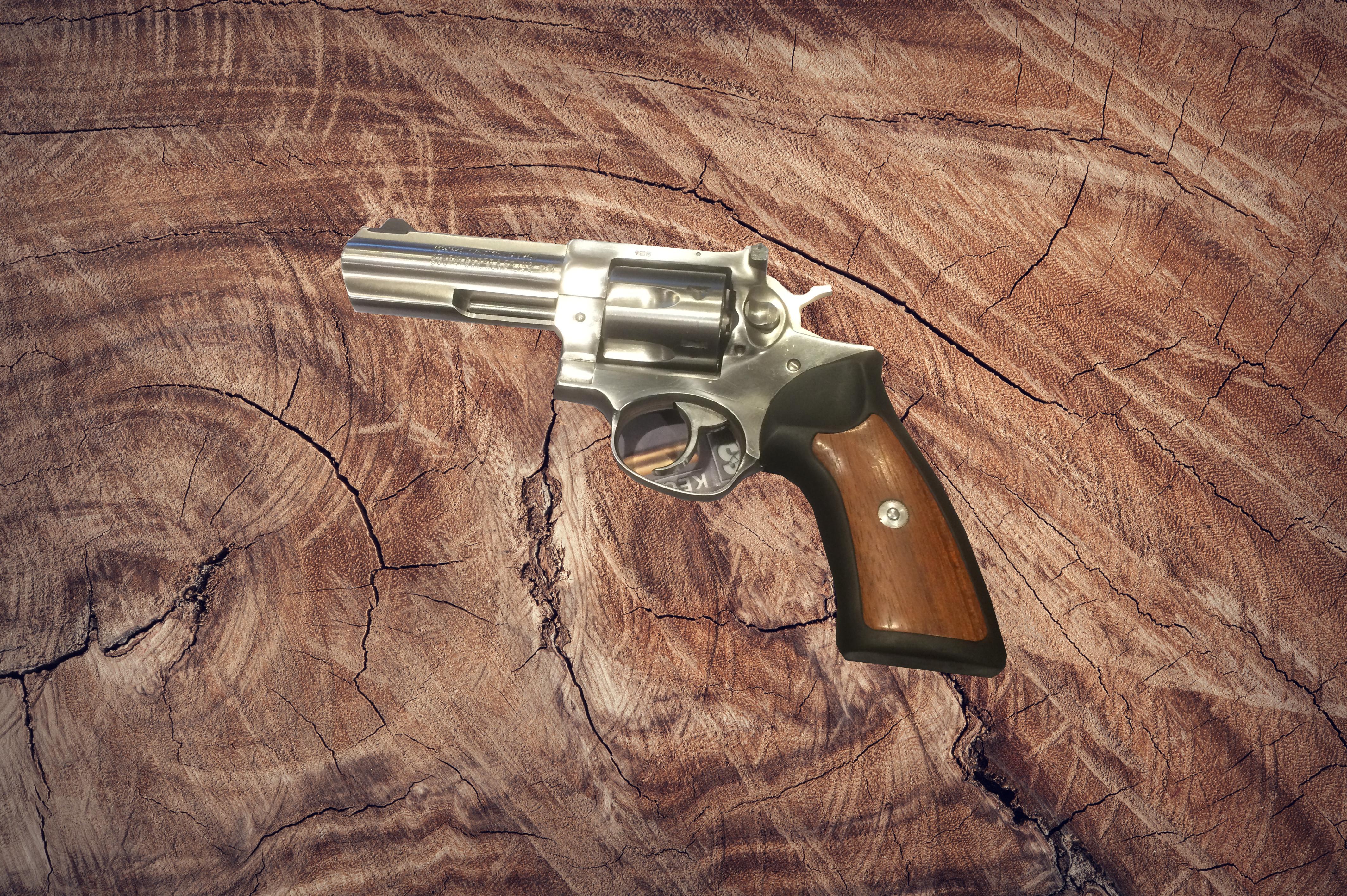 """Revolver Ruger Kal. 357 Mag. 4"""" Image"""
